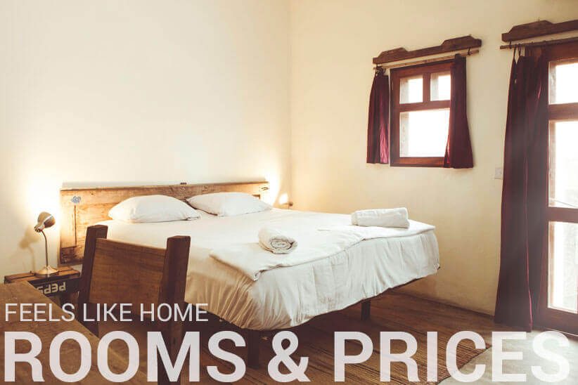 Rooms and Prices - somewhere nice Hostel Accra