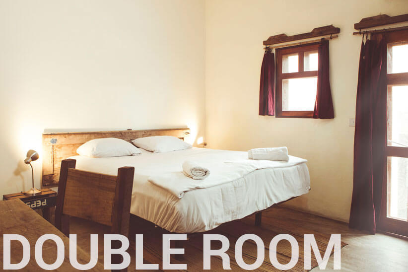 Double Room - somewhere nice